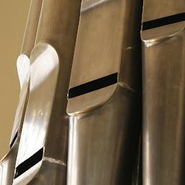Pipe Organ by Terri Kvetko Gonzalez - Artistic Objects Musical Instruments ( musical instrument, organ, metallic, instrument, pipes )