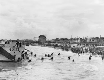 Canadian troops at Juno Beach