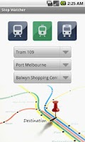 Screenshot of Melbourne Transport Alarm