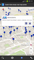 Screenshot of London Oyster Contactless +