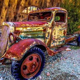 True Colors by Nancy Young - Transportation Automobiles ( 2013, truck, colors, automobile, nevada, nelson, transportation, rusty,  )