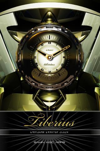 TIBERI美麗的時鐘部件