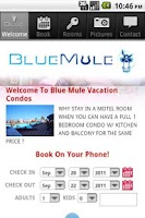 Screenshot of Blue Mule Vacation Condos