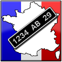French Number Plates icon
