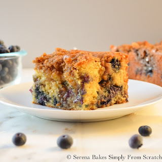 Blueberry Cinnamon Swirl Crumb Coffeecake