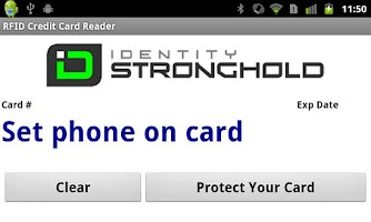 Screenshot of Electronic Pickpocket RFID