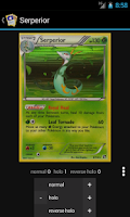 Screenshot of TCG Collection