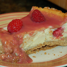 Fabulous Raspberry-Lemon Cheesecake