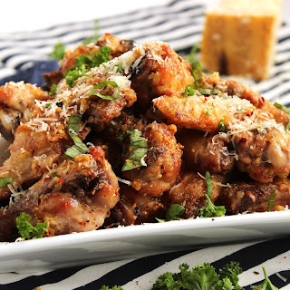 Baked Garlic-Parmesan Wings