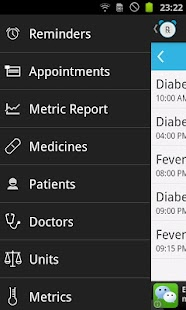 Rx Medicine Reminder screenshot for Android