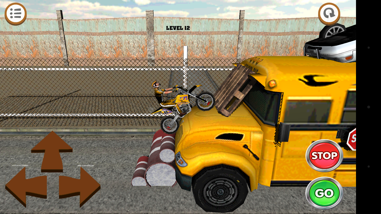 3D Motocross Bike: Industrial Screenshot 4