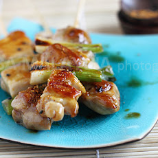 Yakitori (Japanese Grilled Skewered Chicken)