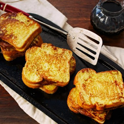 Pork Chop-Stuffed French Toast