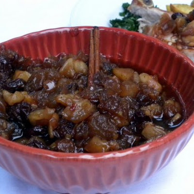 Apple Ginger Chutney