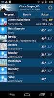 Screenshot of NOAA Weather Unofficial (Pro)