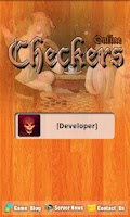 Screenshot of Checkers Online