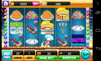 Screenshot of Happy Kitchen Slot Machine