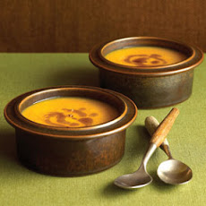 Spiced Pumpkin Soup with Ginger Browned Butter