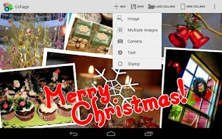 Screenshot of Photo Collage