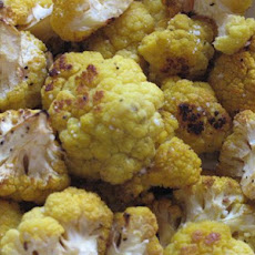 Roasted Golden Cauliflower