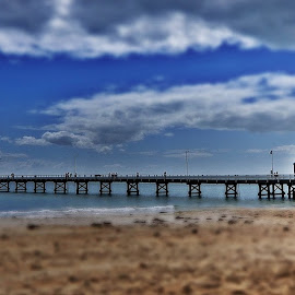 Busselton Jetty South View by Rizal Ismail - Landscapes Travel