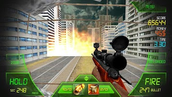 Screenshot of Sniper - Zombie Killer