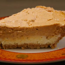 Reduced Sugar Layered Pumpkin Cheesecake