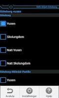 Screenshot of SMS-Biljett Göteborg