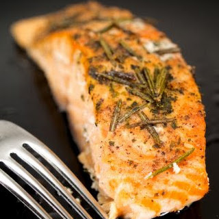 Broiled Salmon with Rosemary