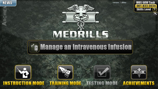 Medrills: Army Manage IV