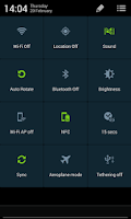 Screenshot of CM11 CM10.2 GALAXY S4 TW theme