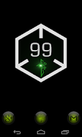 Screenshot of Ingress Battery Widget