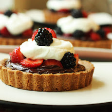 Chocolate Ganache Berry Tartelettes