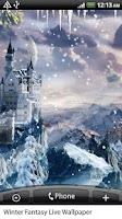 Screenshot of Winter Fantasy Live Wallpaper