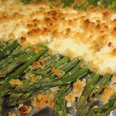 Sour Cream and Horseradish Asparagus