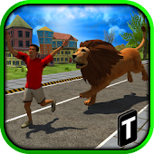 Game Angry Lion Attack 3D version 2015 APK