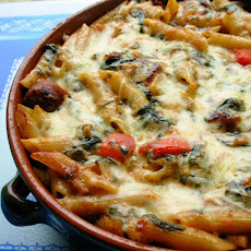 Make Ahead Italian Sausage and Pasta Bake
