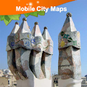 Barcelona Street Map icon