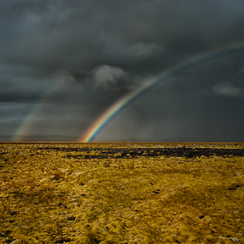 Over the rainbow by Susan Block - Landscapes Cloud Formations ( stormy weather,  )