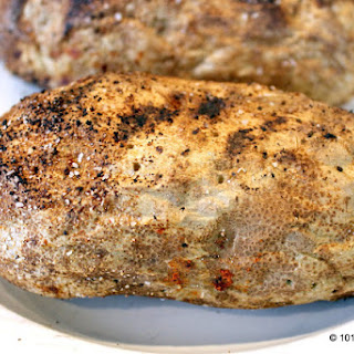 Grilled Whole Baked Potatoes without Foil