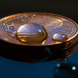 tear of crisis by BO LED - News & Events Politics ( water, cent, metal, coin, money, drops, crisis,  )