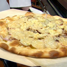 Potato-Truffle Duck Confit Pizza