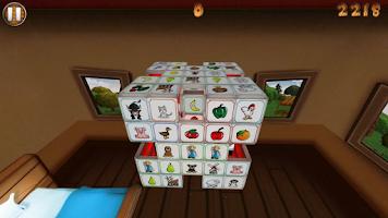 Screenshot of Barnyard Mahjong 2 Free