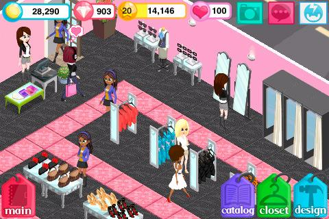fashion-story for android screenshot