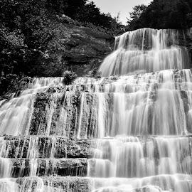 Cascades de Herisson by Bart Dumont - Landscapes Waterscapes ( waterfalls, herisson,  )