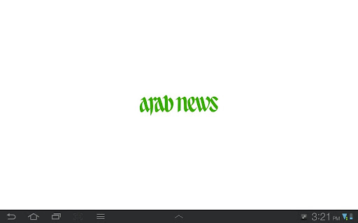 Arab News Tablet
