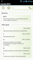 Screenshot of Consulta CID10 FREE