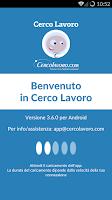 Screenshot of Cerco Lavoro