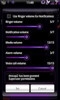 Screenshot of Mixer Purple - CM7 Theme