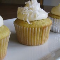 Orange Coconut Cupcakes